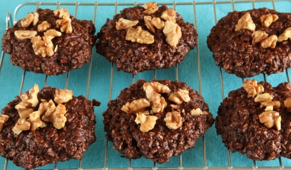 Шоколадови бисквити без печене