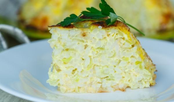 Тиквички с ориз и сирене