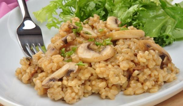 Гъби с ориз по нашенски