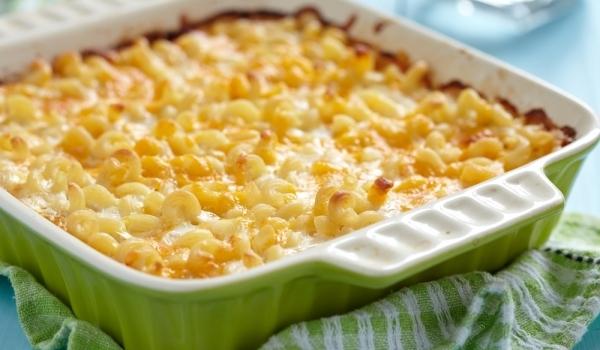 Паста със сирене на фурна
