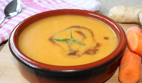 Морковена супа с джинджифил