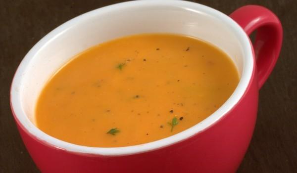Доматена крем супа с маслини