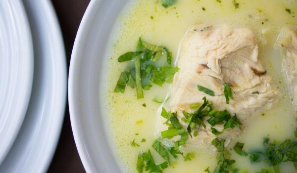 Грузинска пилешка супа