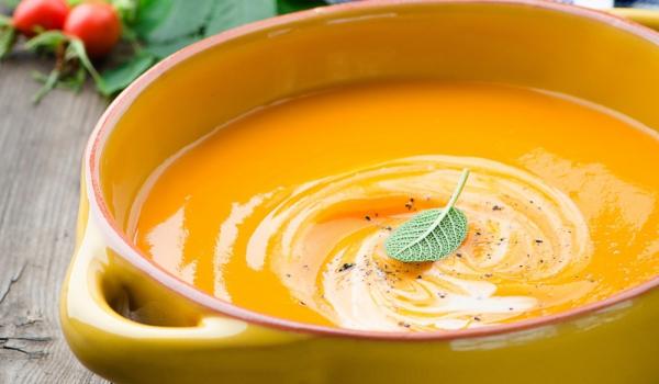 Пикантна тиквена супа