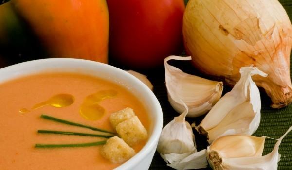 Мароканска супа с моркови и нахут