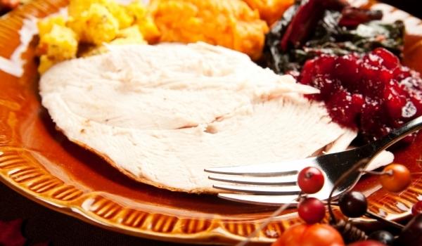Пуйка с боровинков сос и сладки картофи