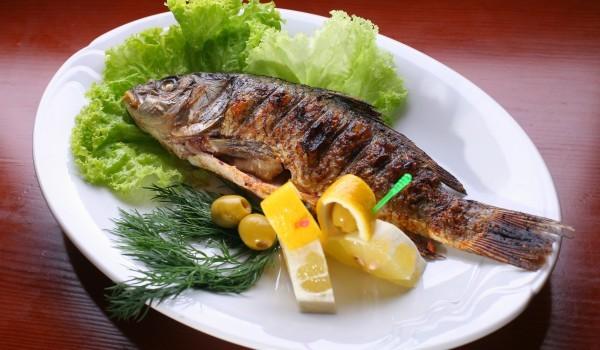 Пълнена риба с маслини