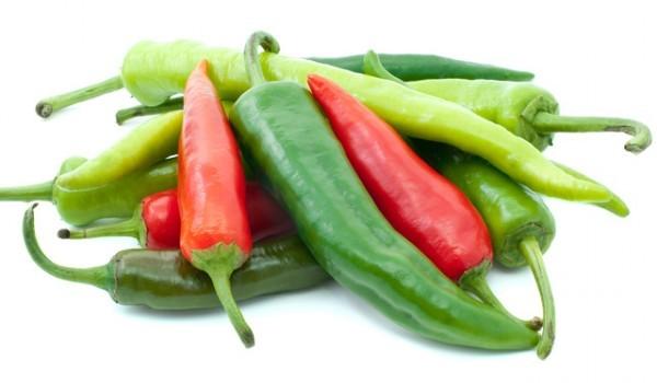 Пържени чорбаджийски чушки със зелени домати